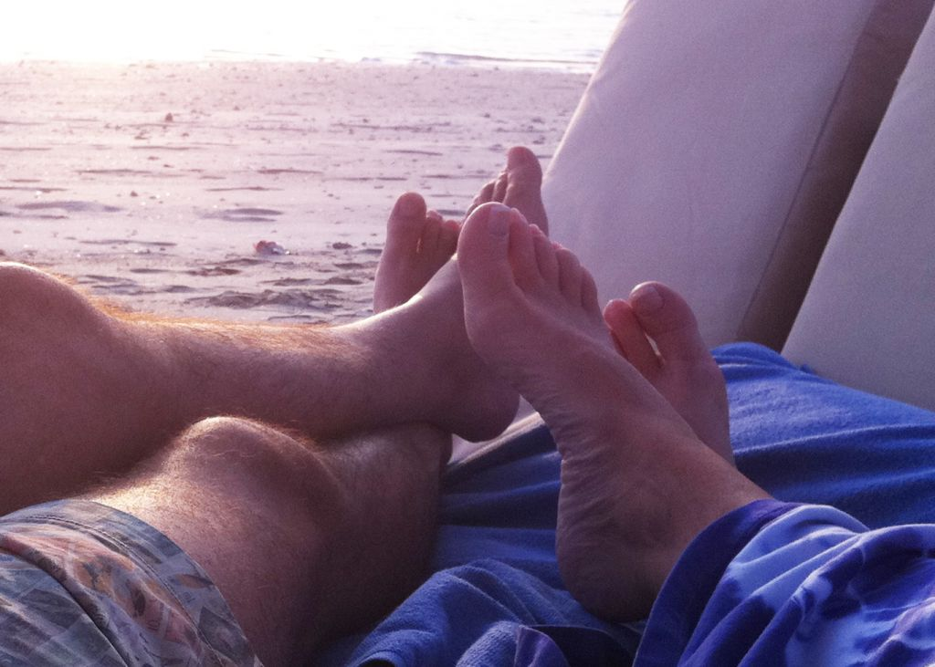 Merry Christmas to All Our Couples - Put Your Feet Up Wherever You Are !!